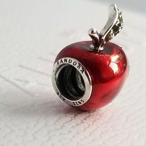 Pandora Disney, Snow White's Apple Charm, Red